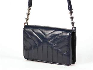Yves Saint Laurent Y Quilted Shoulder Bag