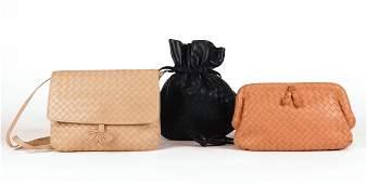 Bottega Veneta: Three Vintage Intrecciato Shoulder