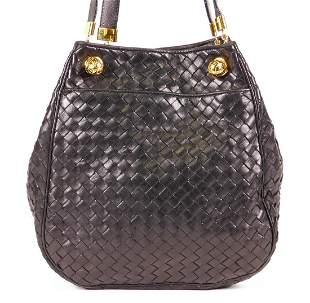 Bottega Veneta: Vintage Intrecciato Bucket Bag
