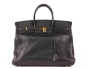 Hermès Birkin 40 in Black Leather