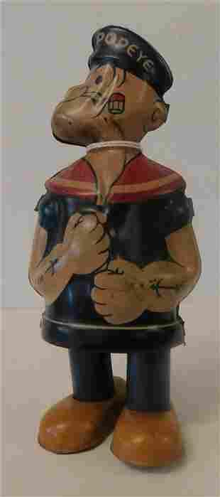 J. Chein Popeye Tin Toy