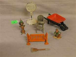 Cast Iron & Lead Toy Group