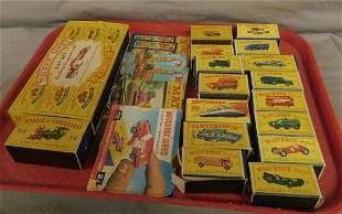 Boxed Matchbox Vehicles & Pamphlets