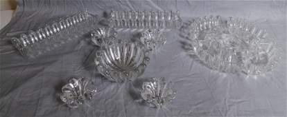 Val St Lambert Glass Pieces