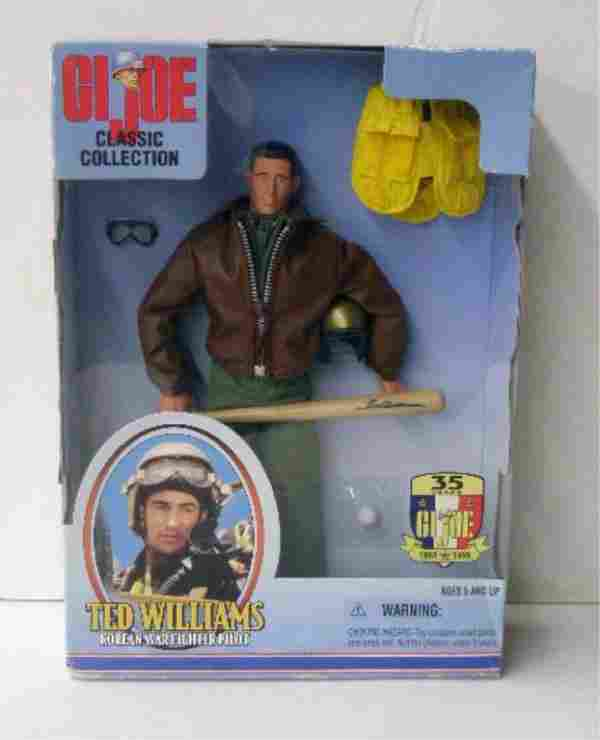1999 G.I. Joe Ted Williams Doll