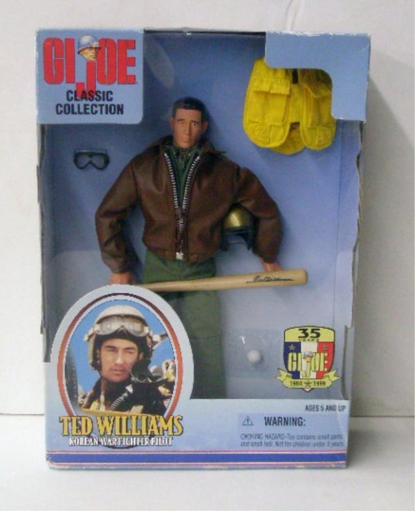 1104: 1999 G.I. Joe Ted Williams Doll