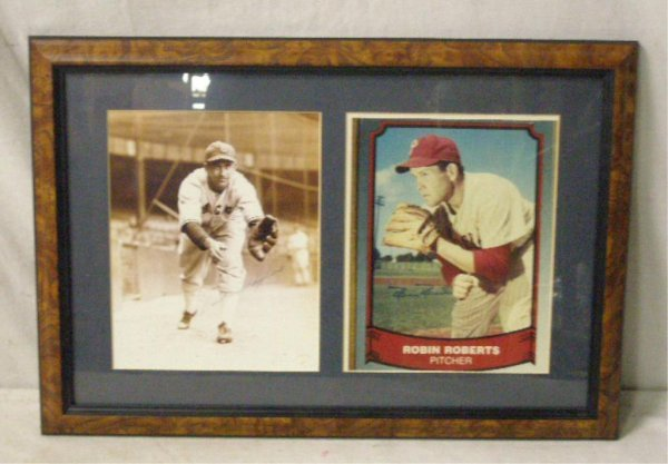 1116: Luke Appling & Robin Roberts Signed Photos