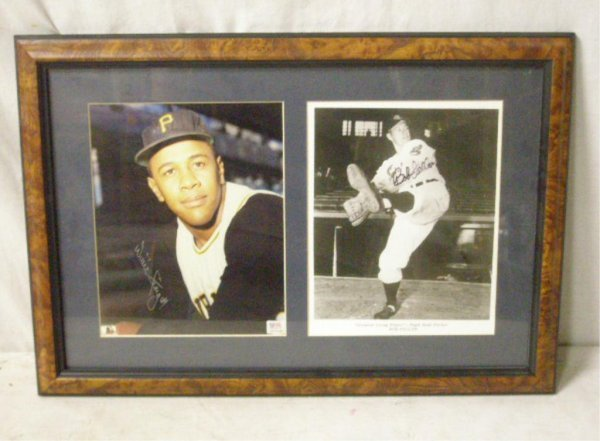 1117: Willie Stargell & Bob Feller Signed Photos