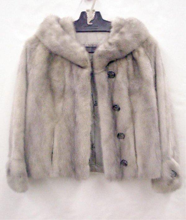 2001: Silver Mink Jacket
