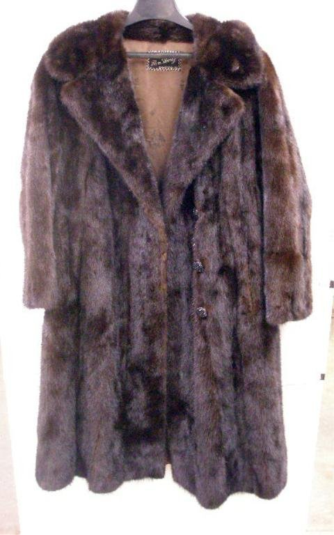 2002: 1950's Ranch Mink Fur Coat