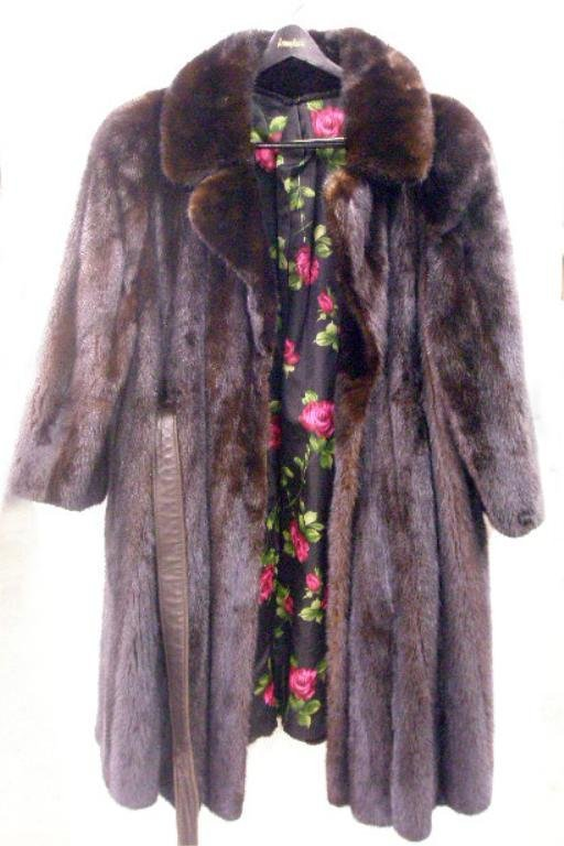 2003: 1960's Ranch Mink Fur Coat