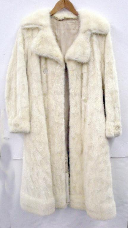 2004: 1960's White Mink Fur Coat