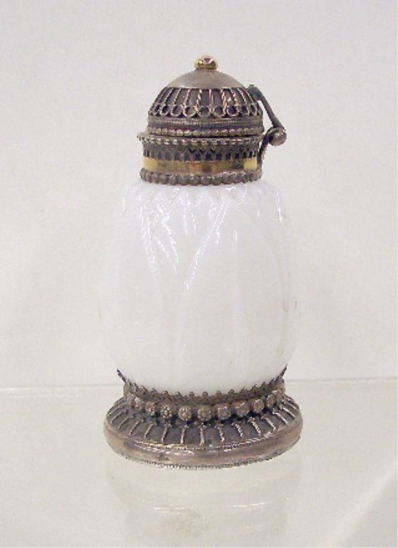 2014: Sterling Silver Glass Scent Jar