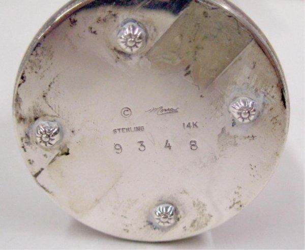 2014: Sterling Silver Glass Scent Jar - 2