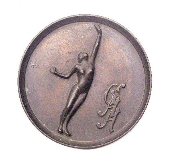 2017: Art Deco Bronze Award Plaque