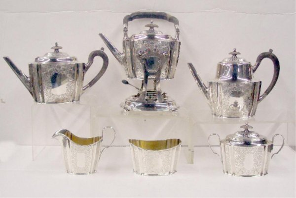 2092: Gorham Sterling Silver Tea Set