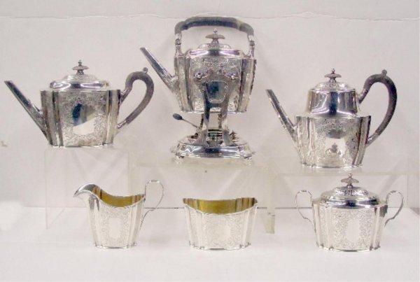 2092: Gorham Sterling Silver Tea Set