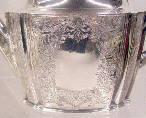 2092: Gorham Sterling Silver Tea Set - 2