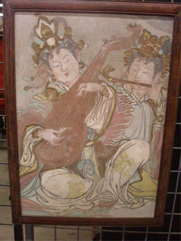 1002: Chinese Fresco-Type Painting