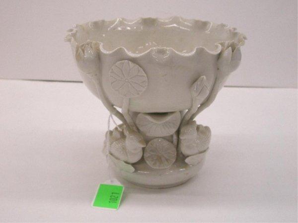 1021: Chinese Blanc de Chine Center Bowl