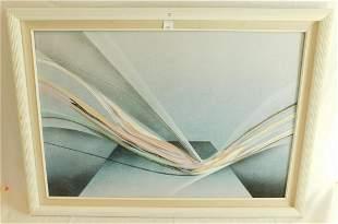 Framed Kingston Oil on Canvas
