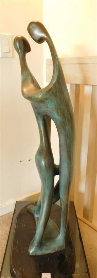 Mavaud' IM Abstract Bronze