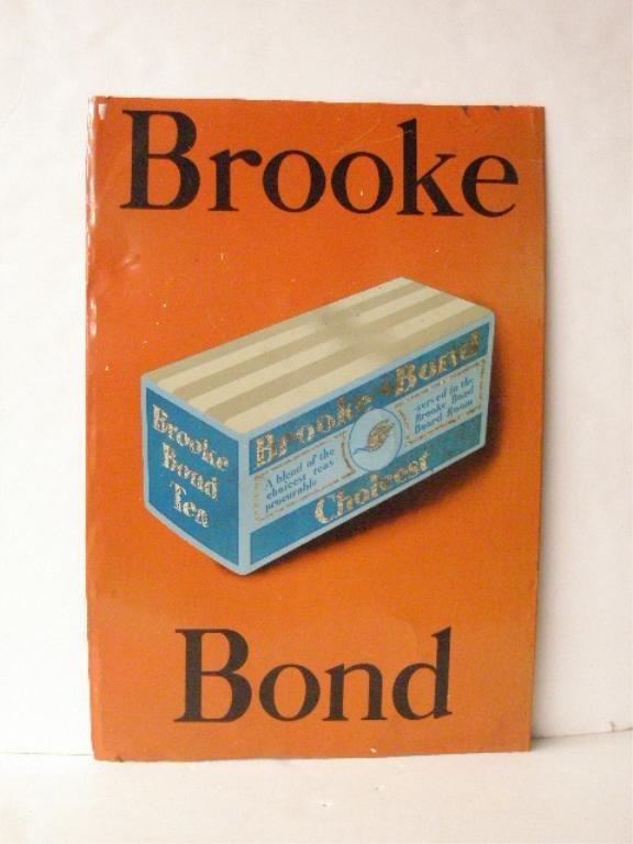 1003: Brooke Bond Tea Advertising Sign