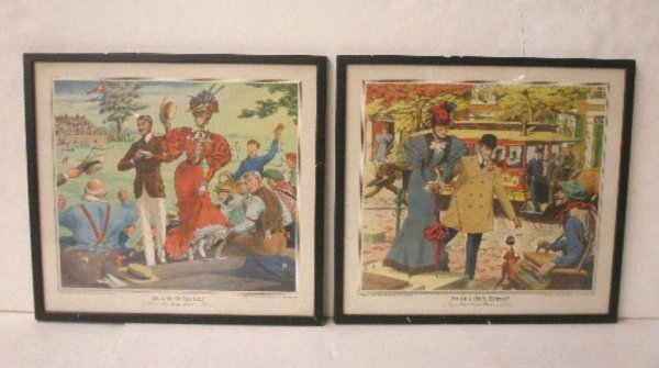 1004: Gunther Brewing Co. Lithograph Prints