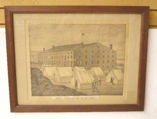 1005: 1889 Libby Prison Print