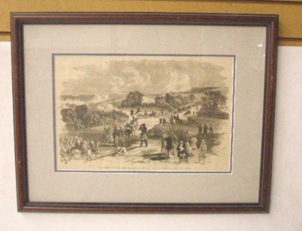 1012: 1884 Civil War Steel Engraved Print