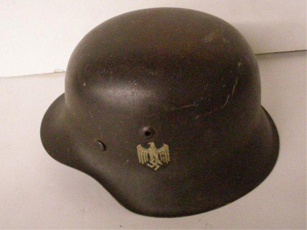 1084: World War II German Combat Helmet