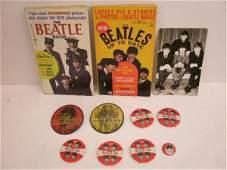 1389 1960s Beatles Books Postcard  Pins