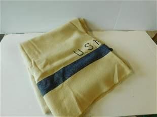 WW II Vintage U.S. Navy Wool Blankets
