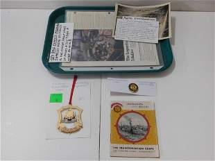 WW II Transportation Corps & Other Items