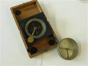 2 Vintage Compasses