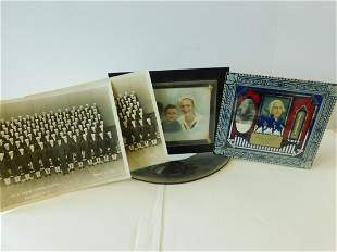 Trench Art Picture Frame, Etc