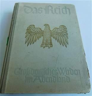 """German Hardback Book """"Das Reich"""""""