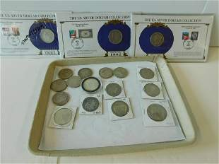 19 US Silver Morgan Dollars