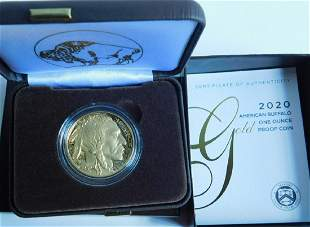 US American Buffalo Gold Proof Coin