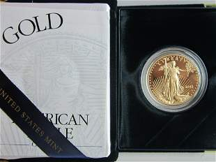 US American Eagle Proof Gold Bullion Coin