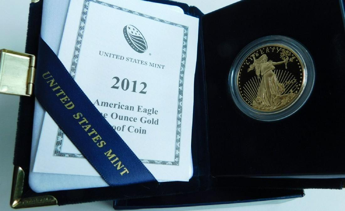 US American Eagle Proof Gold Bullion Coin