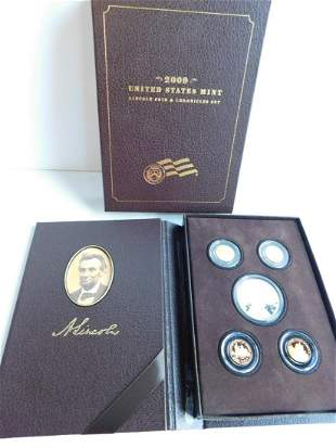 US Lincoln Coin & Chronicles Set