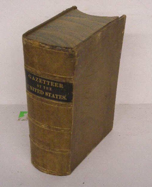 1002: (1854) Gazetteer of The United States