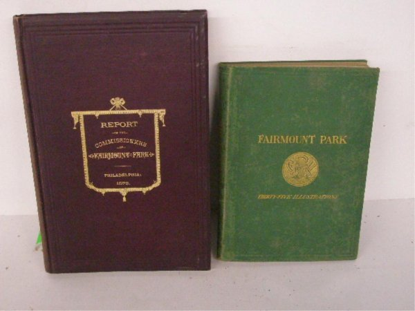 1010: Two Fairmount Park Books-19th C.