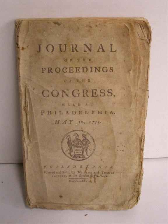1069: (1775) Journal of The Proceedings of ... Congress