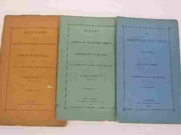 1168: Three Railroad Reports - 1850's
