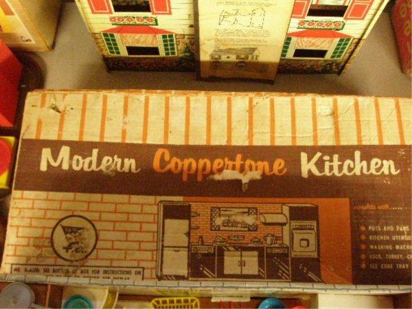 1003: 1960's T. Cohn Modern Coppertone Kitchen