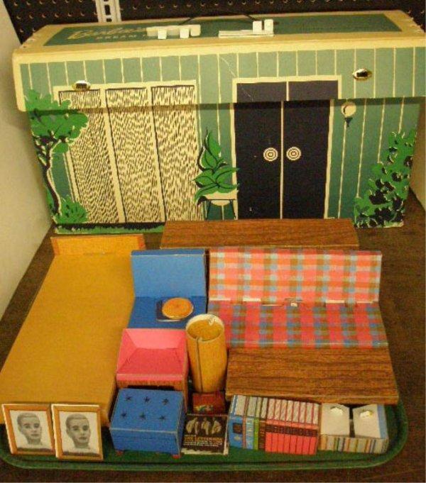 1006A: 1962 Mattel Barbie's Dream House
