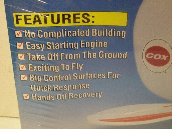 1008: Cox Gooney Bird Remote Control Airplane - 2