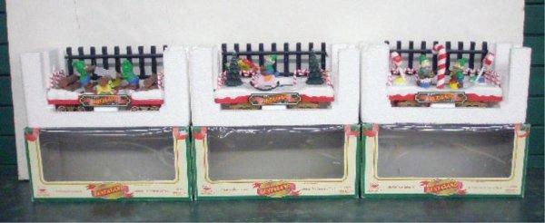 1008A: New Bright Animated Santaland Trains